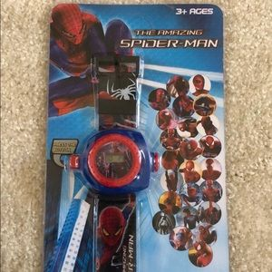 The amazing Spider-Man projection watch